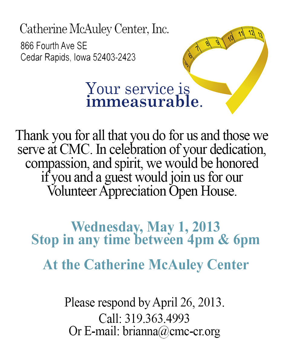 thank you letter resume template resume appreciation email thank volunteer appreciation 2013 back catherine mcauley center appreciation email