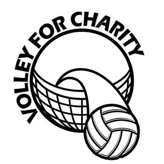 Volley for Charity logo