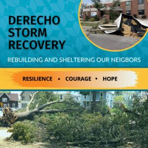 Click to give to Derecho Storm Recovery at CMC