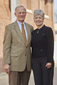 Steve and Susan Ovel, campaign co-chairs