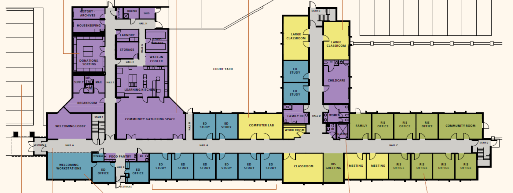 Floor plan of 1220 5th Avenue SE, without detail